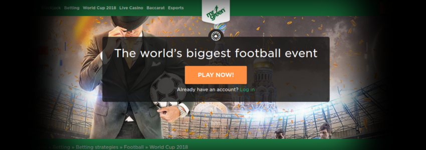 Mr Green World Cup 2018 Road to Russia free spins offer promo promotion freespinsexpert nline casino slots gambling